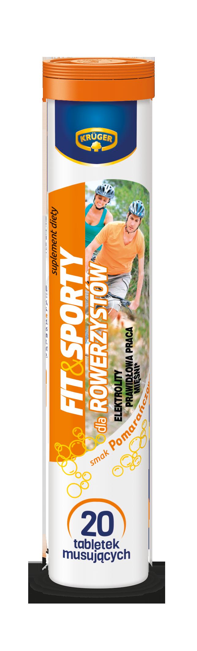 Krüger Fit&Sporty dla rowerzystów