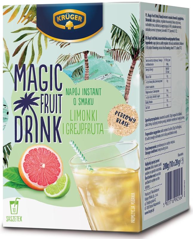 Magic Fruit Drink o smaku limonki i grejpfruta