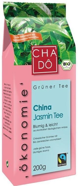 Cha Do Herbata zielona liściasta  aromatyzowana jaśminem BIO