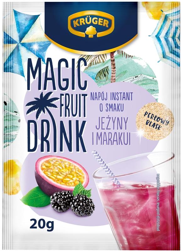 Krüger Magic Fruit Drink napój instant o smaku jeżyny i marakui