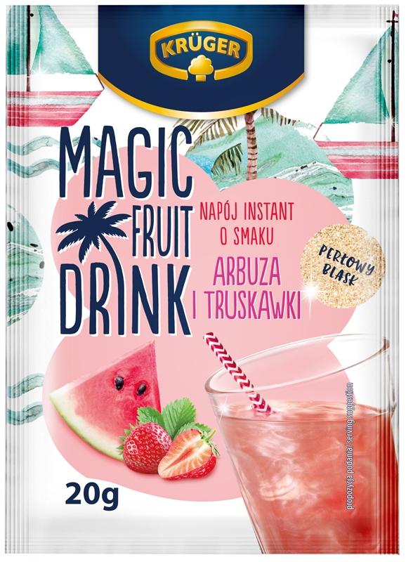 Magic Fruit Drink Napój instant o smaku arbuza i truskawki