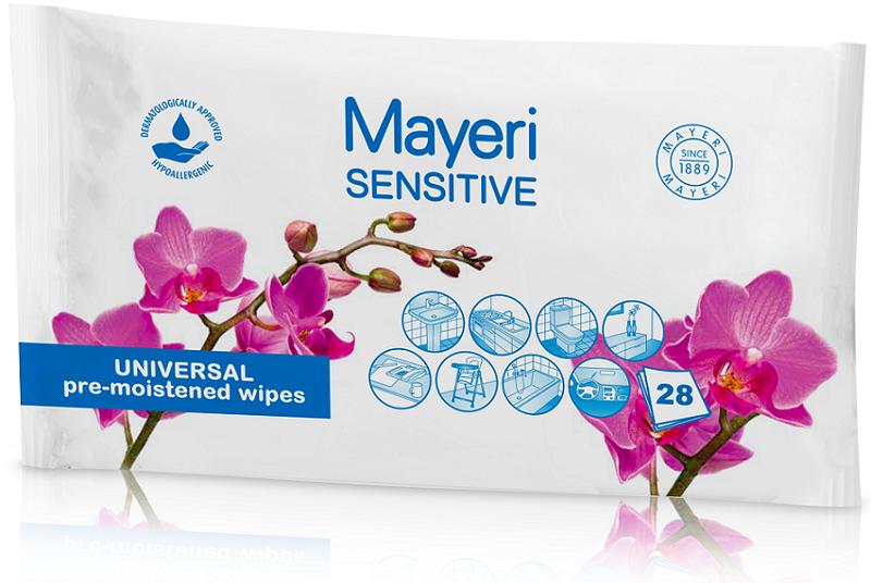 Mayeri Chusteczki do czyszczenia  Sensitive uniwersalne