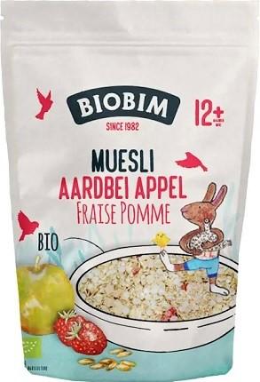 Biobim Ekologiczne musli  truskawkowo - jabłkowe BIO