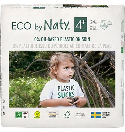 Naty Ekologiczne Pieluszki 4+  (9-20kg)