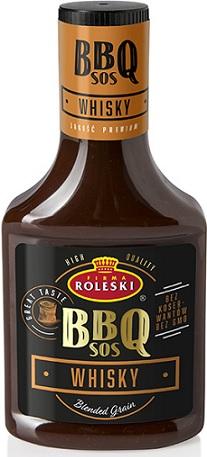 Roleski Sos BBQ Whisky ze szkocką whisky