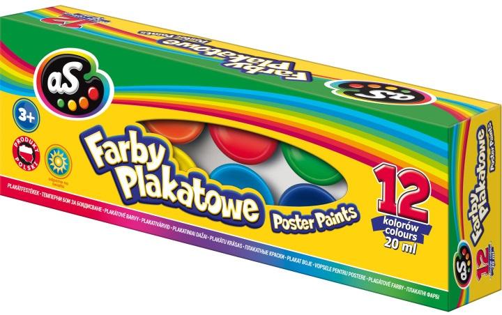 As Farby plakatowe 12 kolorów
