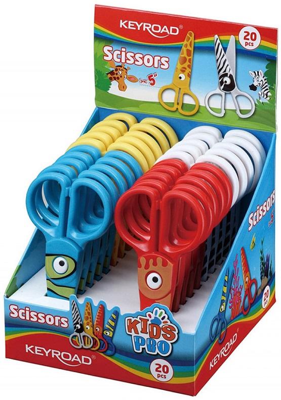 Keyroad Kids Pro Nożyczki szkolne  13cm mix kolorów