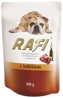 Rafi Karma pełnoporcjowa  dla dorosłych psów wszystkich ras z indykiem