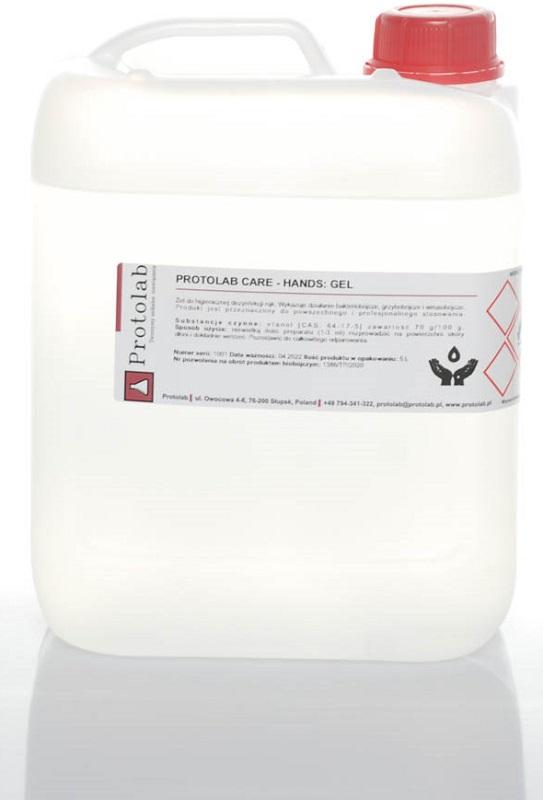 Protolab Care Żel do higienicznej  dezynfekcji rąk