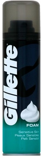 Gillette Sensitive Pianka  do golenia