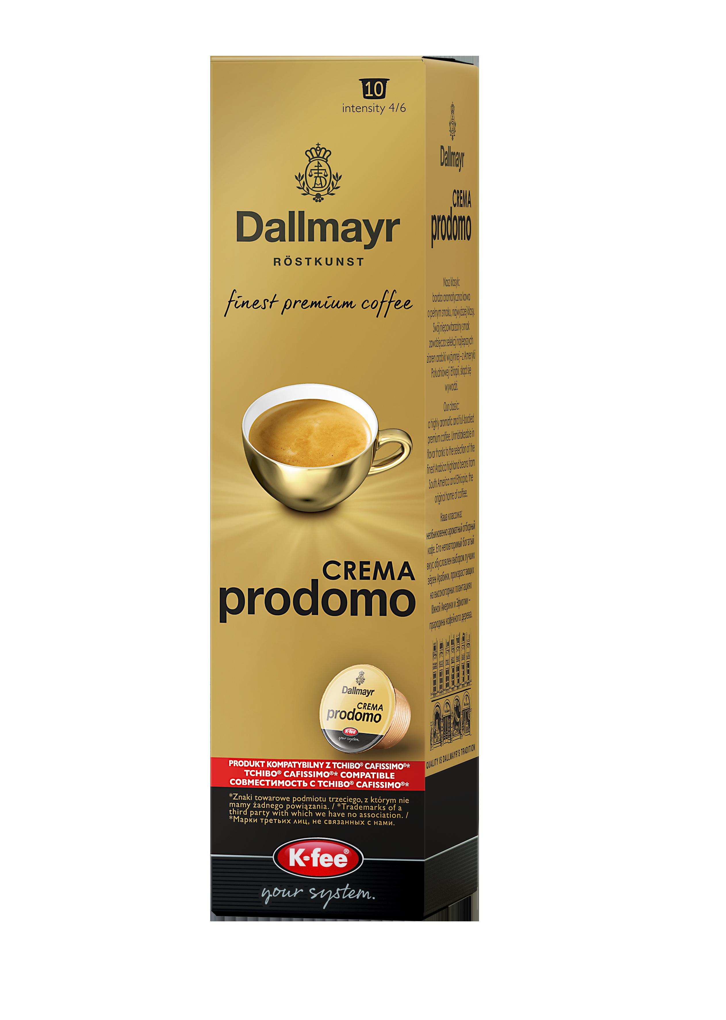 Dallmayr Crema Prodomo Kawa w kapsułkach
