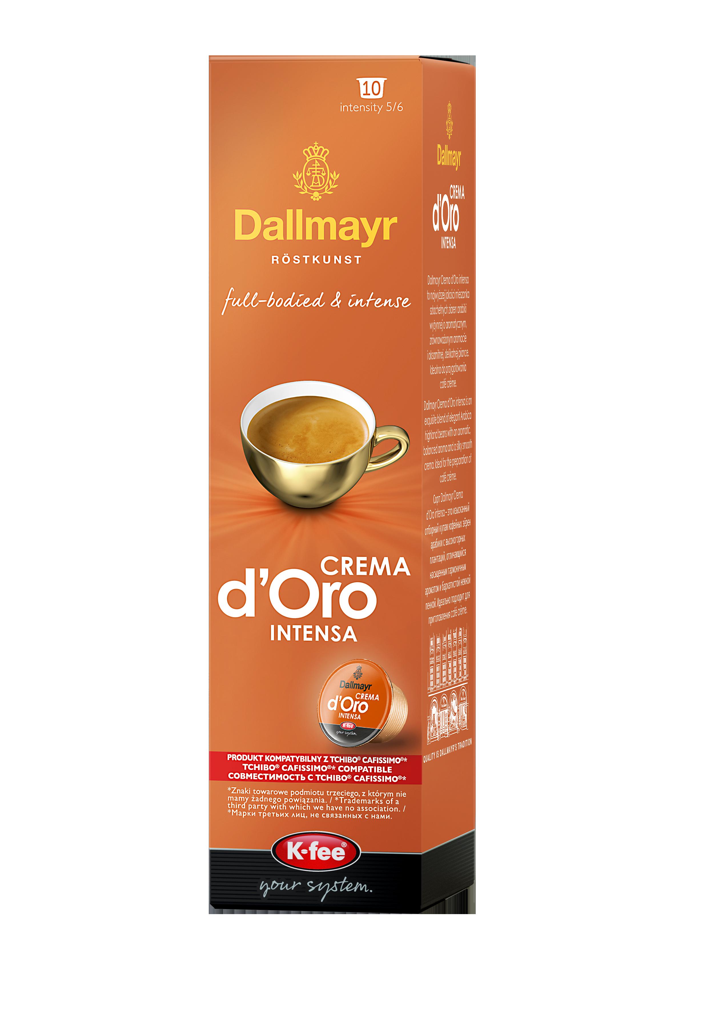 Dallmayr Crema d'Oro Intensa Kawa w kapsułkach