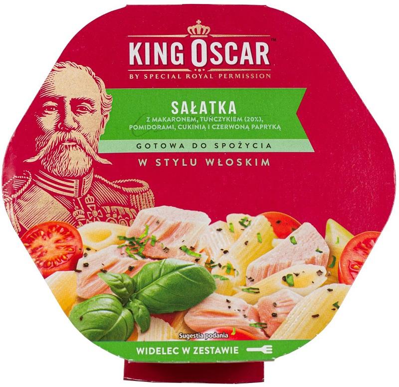 King Oscar Sałatka gotowa  do spożycia w stylu włoskim