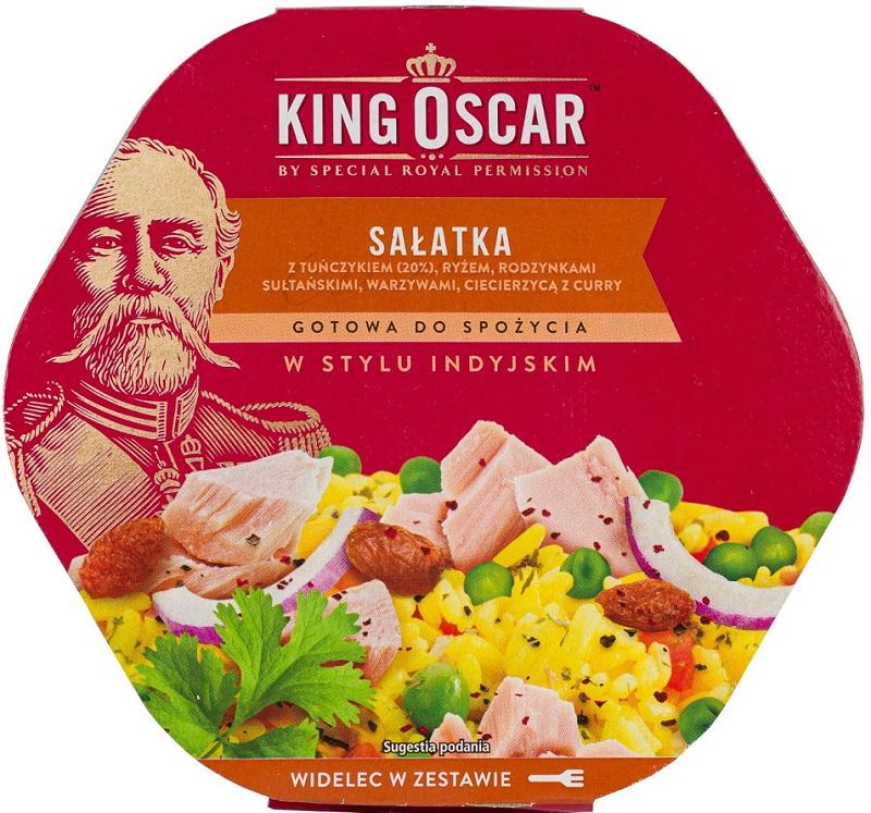 King Oscar Sałatka gotowa  do spożycia w stylu indyjskim