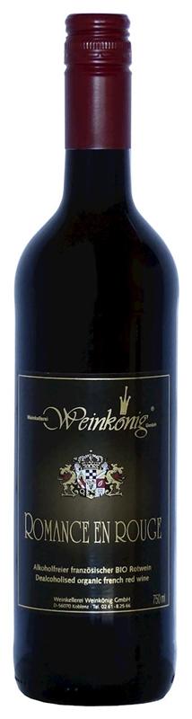 Weinkoenig wino bezalkoholowe  czerwone wytrawne romance en blanc BIO