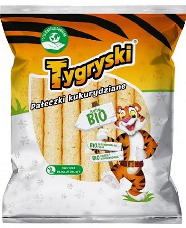 Tygryski pałeczki kukurydziane BIO