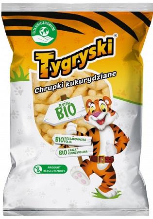 Tygryski chrupki kukurydziane BIO