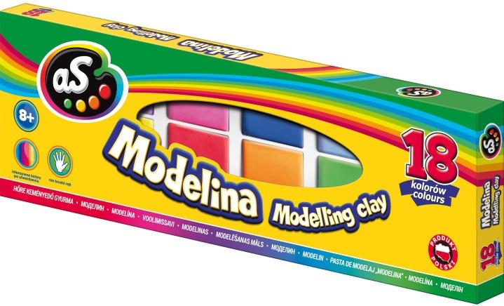 As Modelina 18 kolorów
