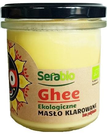 Serabio Ghee Ekologiczne masło  klarowane