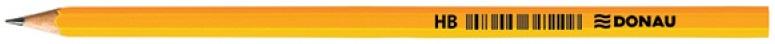 Donau Ołówek drewniany HB  lakierowany, żółty