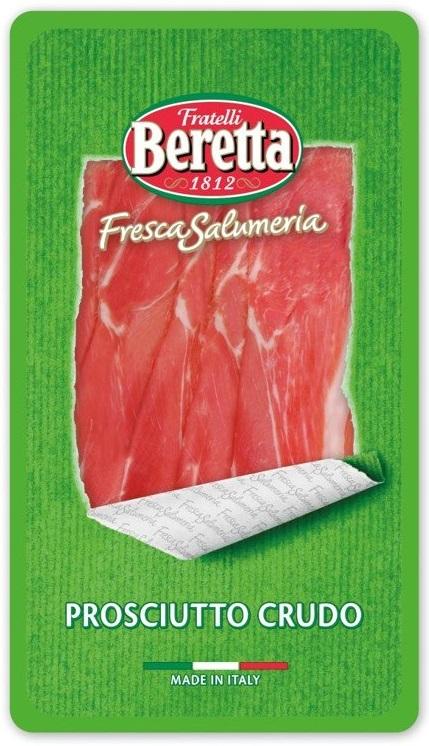 Beretta Proscuitto Crudo Szynka  wieprzowa surowa dojrzewająca w plastrach