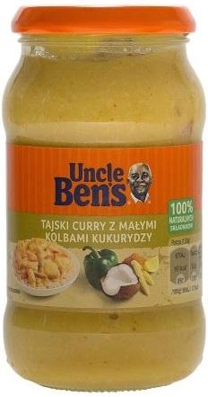 Uncle Ben's Sos tajski curry  z małymi kolbami kukurydzy
