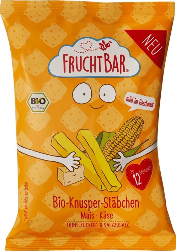 Fruchtbar Ekologiczne chrupki kukurydziane serowe