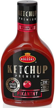 Roleski Ketchup Premium pikantny NOWOŚĆ!