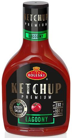 Roleski Ketchup Premium łagodny NOWOŚĆ!
