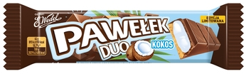 Wedel baton pawełek duo kokos