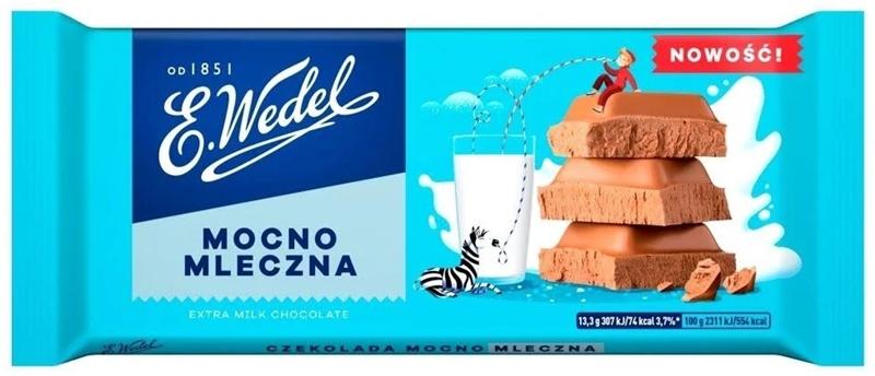 Wedel czekolada mocna mleczna