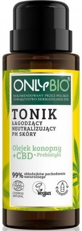 Only Bio tonik łagodzący  neutralizujący ph skóry