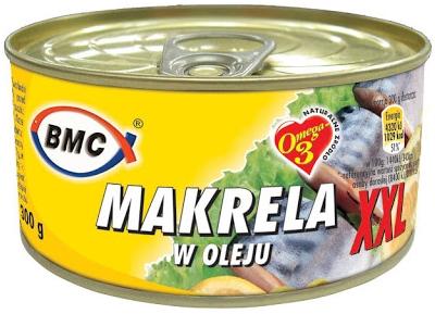 B.M.C. Makrela w oleju XXL