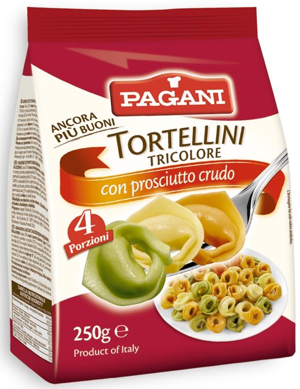 Pagani Tortellini makaron jajeczny z nadzieniem mięsnym
