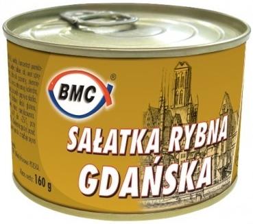 B.M.C. Sałatka rybna Gdańska
