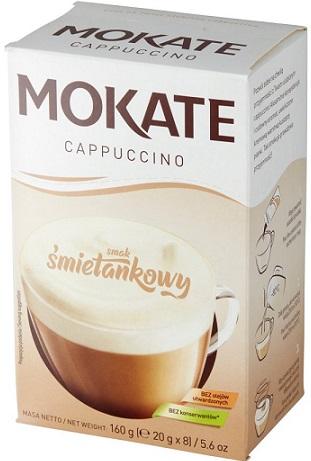 Mokate Cappuccino smak śmietankowy