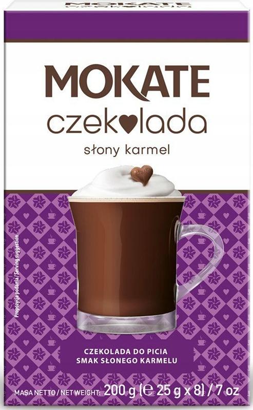 Mokate czekolada do picia smak słonego karmelu