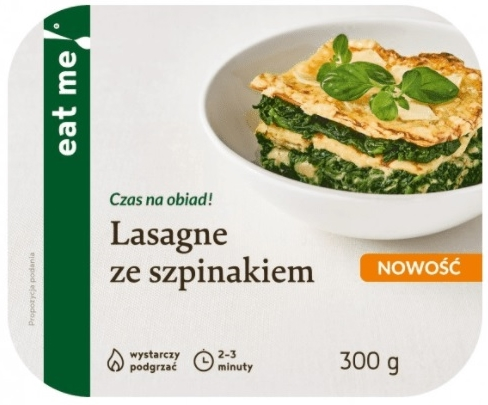 Eat Me Lasagne with Spinach