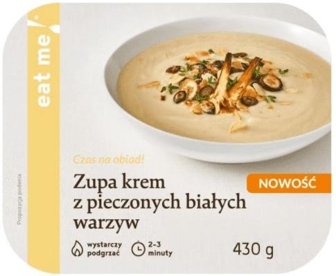 Eat Me Zupa krem z pieczonych  białych warzyw