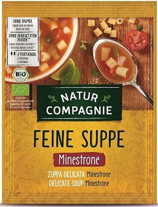 Natur Compagnie Zupa Minestrone z Makaronem BIO
