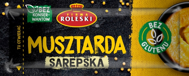 Roleski Musztarda Sarepska saszetka