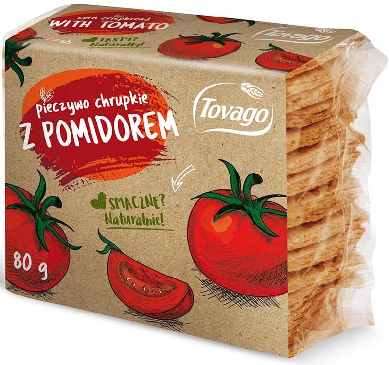 Tovago Pieczywo chrupkie z  pomidorem