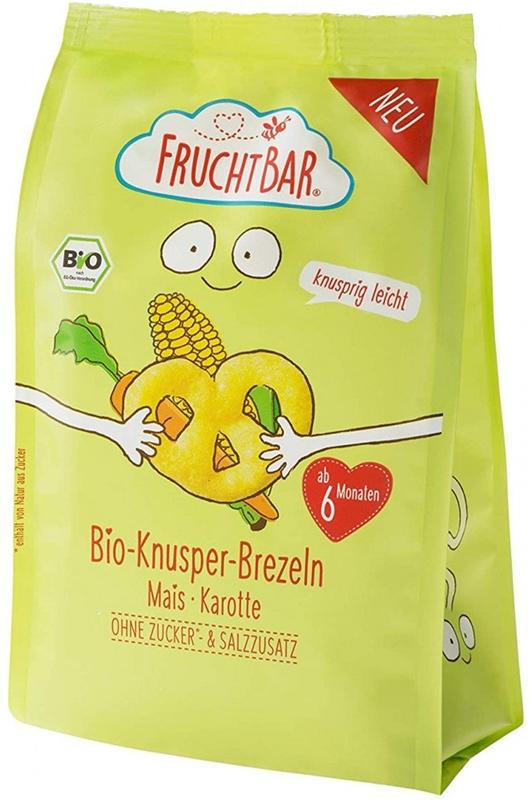 Fruchtbar Precelki kukurydziane marchewkowe