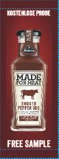 Gratis! Kühne MADE FOR MEAT Smoked Pepper BBQ