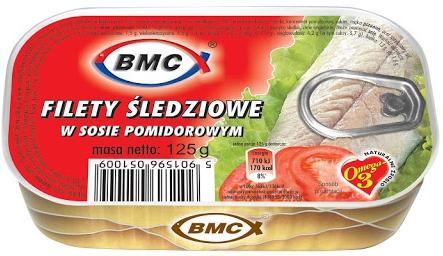 B.M.C. Filety śledziowe w sosie pomidorowym