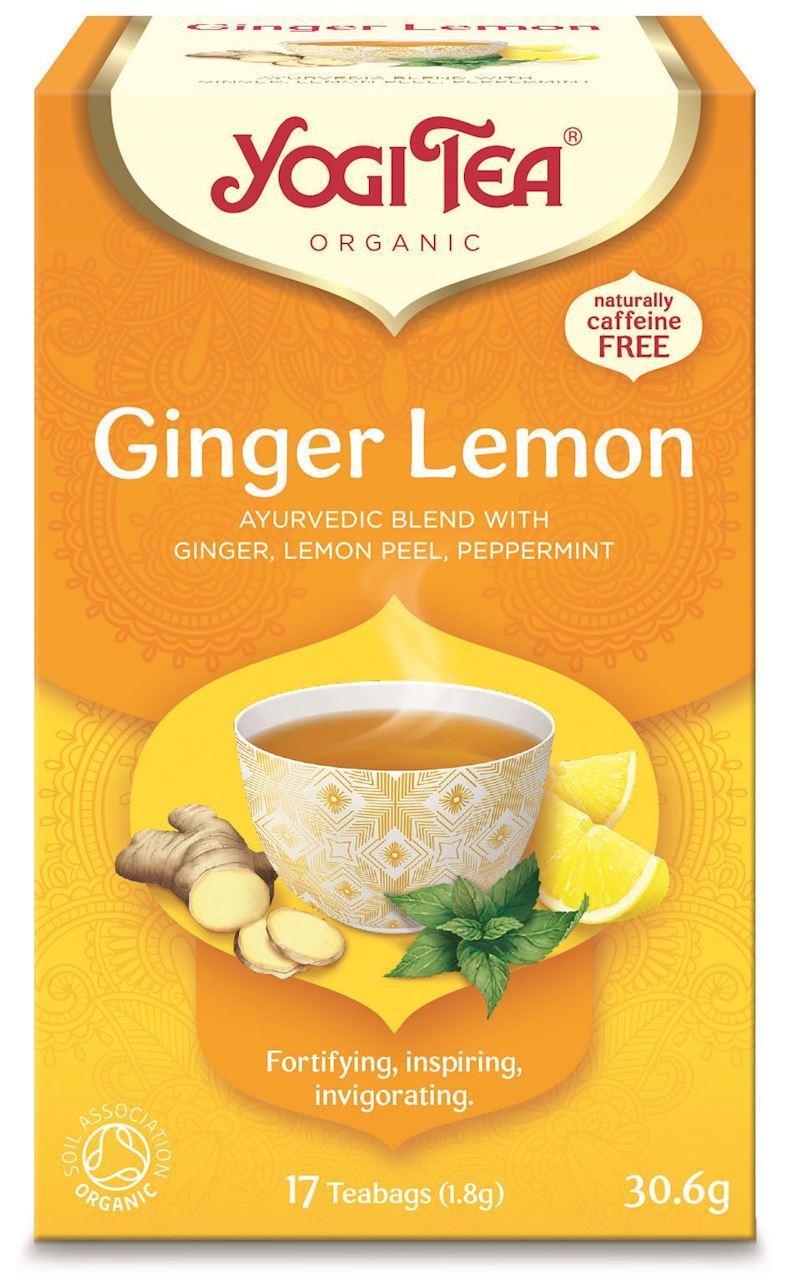 Yogi Tea Herbata imbirowo -  cytrynowa BIO