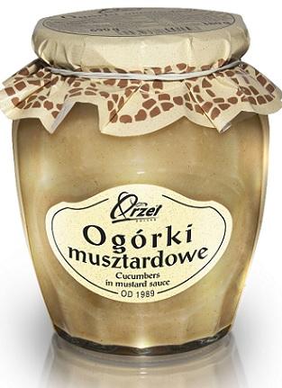 Orzeł Polska Ogórki Musztardowe