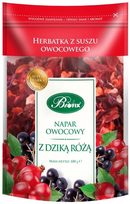 Bifix Herbatka z suszu owocowego napar owocowy z dziką różą