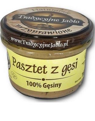 Tradycyjne Jadło Pasztet z gęsi 100% Gęsiny