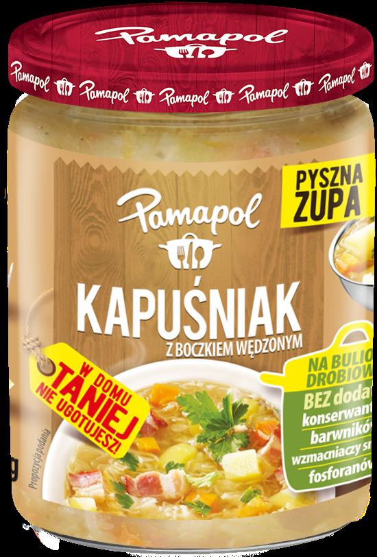 Pamapol Zupa kapuśniak z boczkiem wędzonym